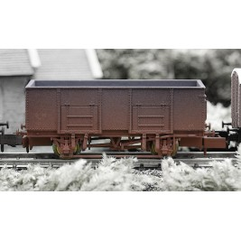 2F-038-004 N Gauge 20T Mineral Wagon GWR 33223 Weathered