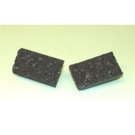 COAL2 OO Gauge  Coal Loads  for 24 Ton Ore Wagons (Pack of 4)