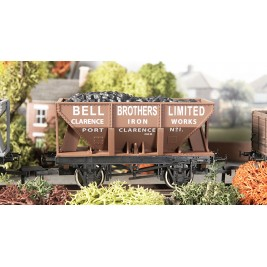4F-033-003 OO Gauge 24 Ton Steel Ore  Hopper Bell Bros Ltd