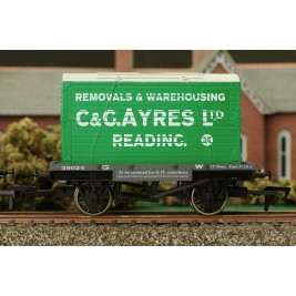 4F-037-104 OO Gauge Conflat & Container C & G Ayres