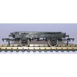 WCHASS9B OO Gauge 9ft Wheelbase Chassis for Dapol 7 Plank 9ft Open Wagon