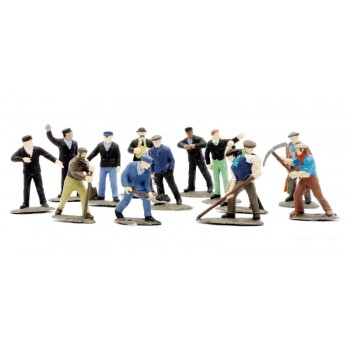 C002  Railway Workmen (set of 38)