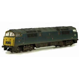 2D-003-010 N Gauge D1062  'Western Courier' BR Blue FYE Weathered