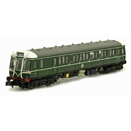2D-009-101 N Gauge Class  121 BR Green With Whiskers W55020 Dummy