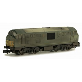 2D-012-009D N Gauge Class 22  BR GREEN DISC HEADCODE D6316 WEATHERED DCC FITTED