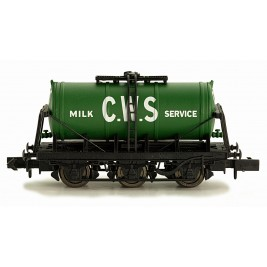 2F-031-009 N Gauge 6 Wheel Milk Tanker   CWS GREEN