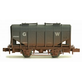 2F-036-014 N Gauge Bulk Grain Hopper GWR 42311 Weathered