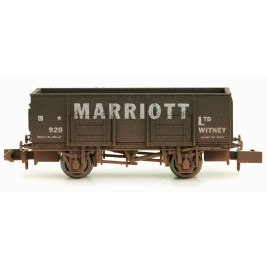 2F-038-022 N Gauge 20T Mineral Wagon Marriott Weathered