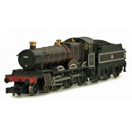 2S-001-004 N Gauge Ditcheat Manor 7821 BR Mixed Traffic Black
