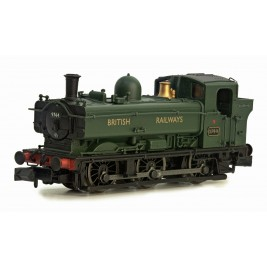 2S-007-013D  N Gauge PANNIER 9744 `BRITISH RAILWAYS' Livery DCC Fitted