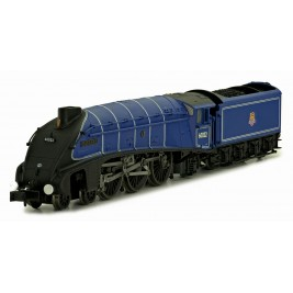 2S-008-004D N Gauge A4 Mallard 60022 BR Dark Blue Early Crest DCC Fitted