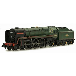 2S-017-002 N Gauge Britannia 70009 Alfred The Great BR Late Crest