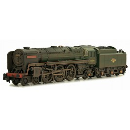 2S-017-005D N Gauge Britannia 70025 Western Star BR Late Crest Weathered DCC Fitted