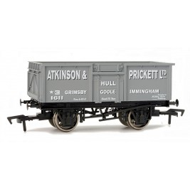 4F-030-007 OO Gauge 16 Ton Steel Mineral Wagon  ATKINSON & PRICKETT
