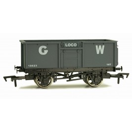 4F-030-014 OO Gauge 16 Ton Steel Mineral Wagon  GWR 18623 Weathered
