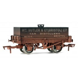 4F-032-006  OO Gauge Rectangular Tank WM BUTLER & CO Weathered