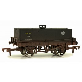 4F-032-012  OO Gauge Rectangular Tank BR 28 Weathered