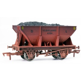 4F-033-008 OO Gauge 24 Ton Steel Ore  Hopper Dorman Long Weathered