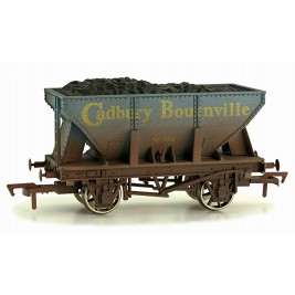 4F-033-101 OO Gauge 24 Ton Steel Ore  Hopper Cadbury Weathered