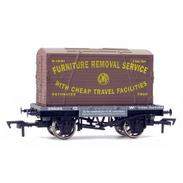 4F-037-003 OO Gauge Conflat & Container GWR