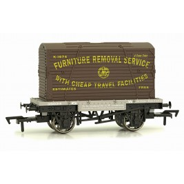 4F-037-007 OO Gauge Conflat & Container GWR    K-1674