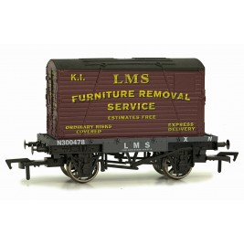 4F-037-009 OO Gauge Conflat & Container LMS K1