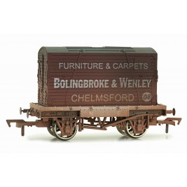 4F-037-107 OO Gauge Conflat & Container Bolingbroke  Weathered