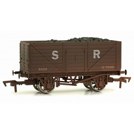 4F-080-006 OO Gauge 8 Plank Wagon  Southern Railways 9329 Weathered