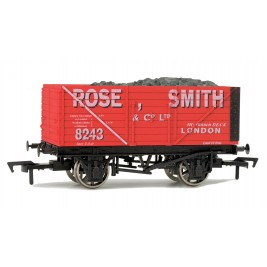 4F-080-102 OO Gauge 8 Plank Wagon  Rose Smith