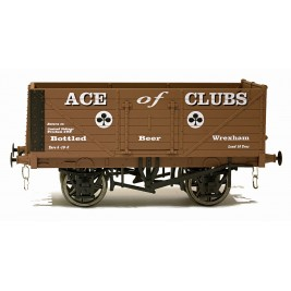 7F-071-024 O Gauge 7 Plank Open Wagon  Ace Of Clubs
