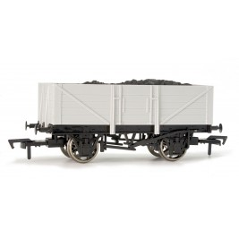 A001 OO Gauge Unpainted 5 Plank Wagon (10' Chassis)