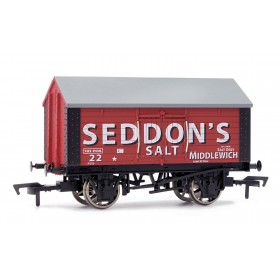 B895W OO Gauge Salt Van SEDDON'S SALT Weathered