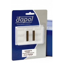 2A-000-006 (Was NSPARE7A)  N Gauge  Easi-Fit Magnetic Coupling Activation Magnets (1 Pair)