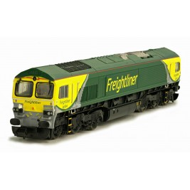 2D-007-002D N Gauge CLASS  66  66504 Freightliner  Powerhaul Livery  DCC Fitted