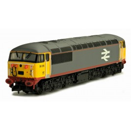 2D-004-001D N Gauge Class 56 56019 Red Stripe Railfreight Grey DCC Fitted