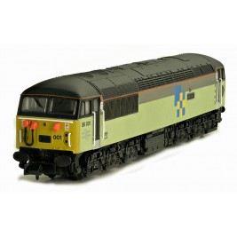 2D-004-002 N Gauge Class 56 56001 Triple Grey Construction Sector livery