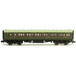 2P-012-003  N Gauge Maunsell Coach First Class Maunsell Lined Green  7668