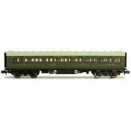 2P-012-004  N Gauge Maunsell Coach First Class Maunsell Lined Green  7670