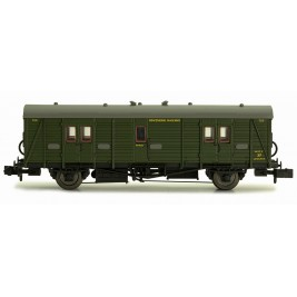 2P-012-202  N Gauge Maunsell Brake Van  Maunsell Lined Green 700