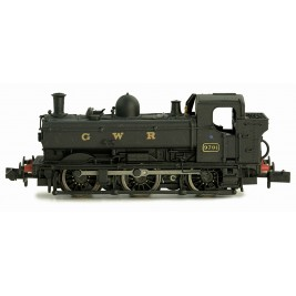 2S-007-015D  N Gauge Pannier 9791 GWR Black lettered GWR Later Cab DCC Fitted