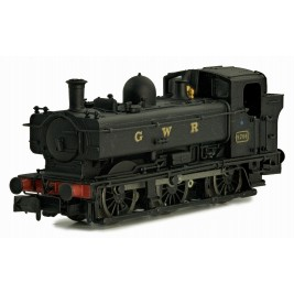 2S-007-015  N Gauge Pannier 9791 GWR Black lettered GWR Later Cab