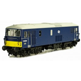 4D-006-005D  OO Gauge Class 73  BR Early Blue SYP & Double Arrow Logo  E6039 DCC Fitted