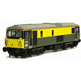 4D-006-006D  OO Gauge Class 73  Dutch Yellow & Grey Civil Engineers 73138 DCC Fitted