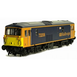 4D-006-007D  OO Gauge Class 73  GB Railfreight Blue & Yellow Lisa 73206 DCC Fitted
