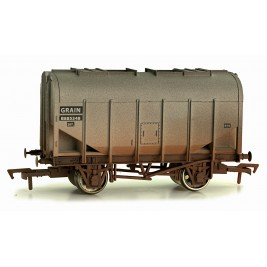 4F-036-010 OO Gauge Bulk Grain Hopper BR B885348 Weathered