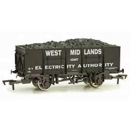 4F-038-102 OO Gauge 20 Ton Steel Mineral Wagon West Midland Joint Electric 18