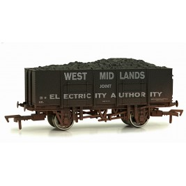 4F-038-103 OO Gauge 20 Ton Steel Mineral Wagon West Midland Joint Electric 18 Weathered