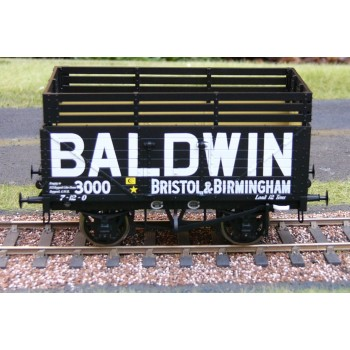 325 8 Plank Open Wagon with Coke Rails - Baldwin - 3000