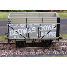 327 8 Plank Open Wagon with Coke Rails - Bedwas Coke