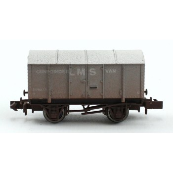 2F-013-050 N Gauge Gunpowder Van LMS 299035 Weathered